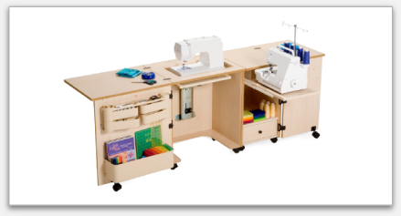 Model 1000 Sewing/Serger Cabinet