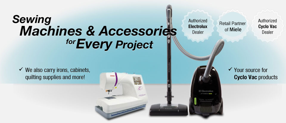 Sewing Machines & Accessories for Every Project Authorized Electrolux Dealer Kenmore warranty repair centre