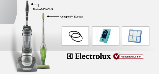 Nimble® EL8602A Unirapido™ EL855A Electrolux Authorized Dealer